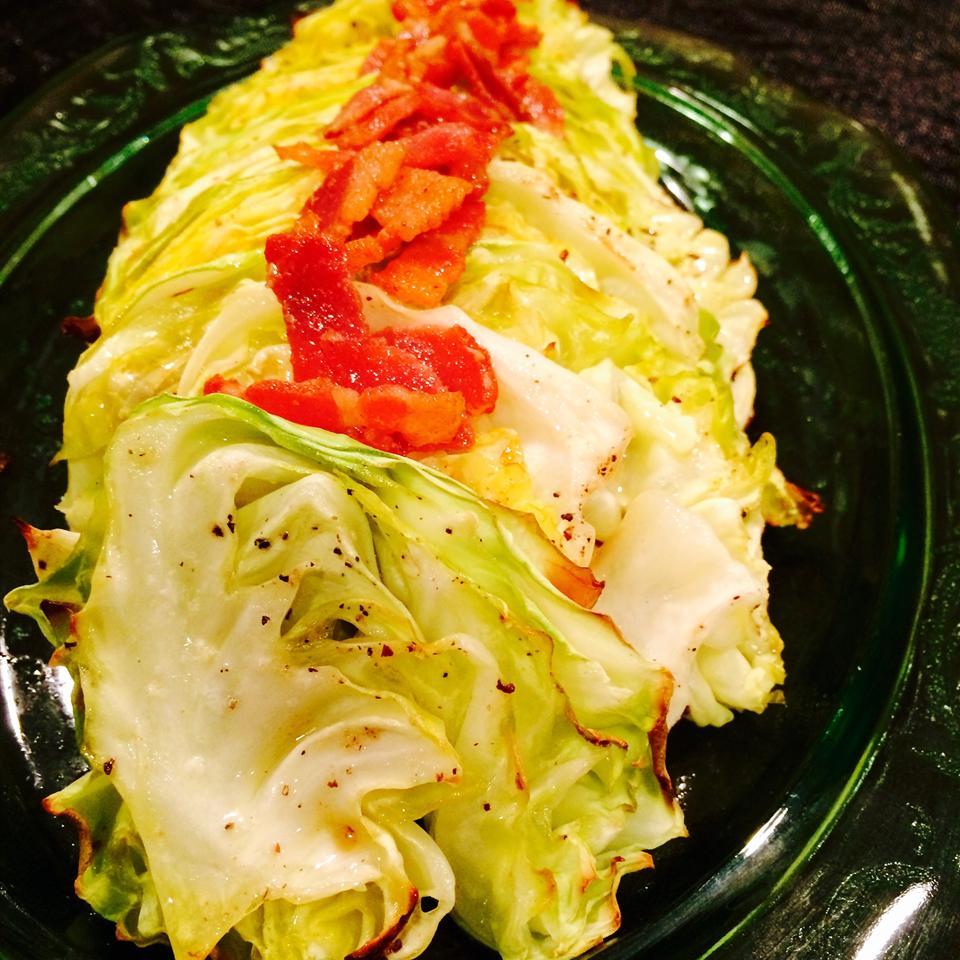 Easy Roasted Cabbage Katrina Katula