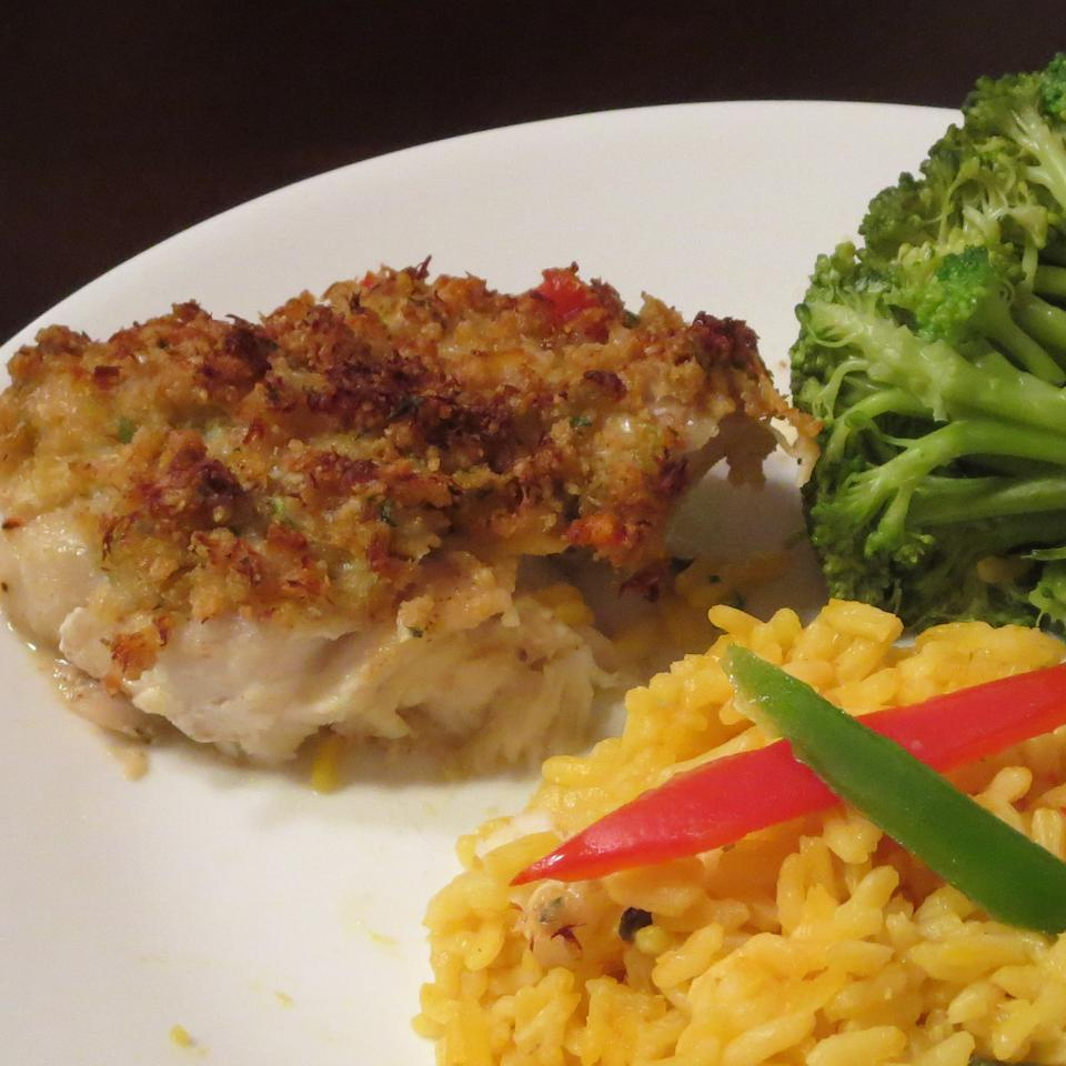 Crab Crusted Grouper Anonymous
