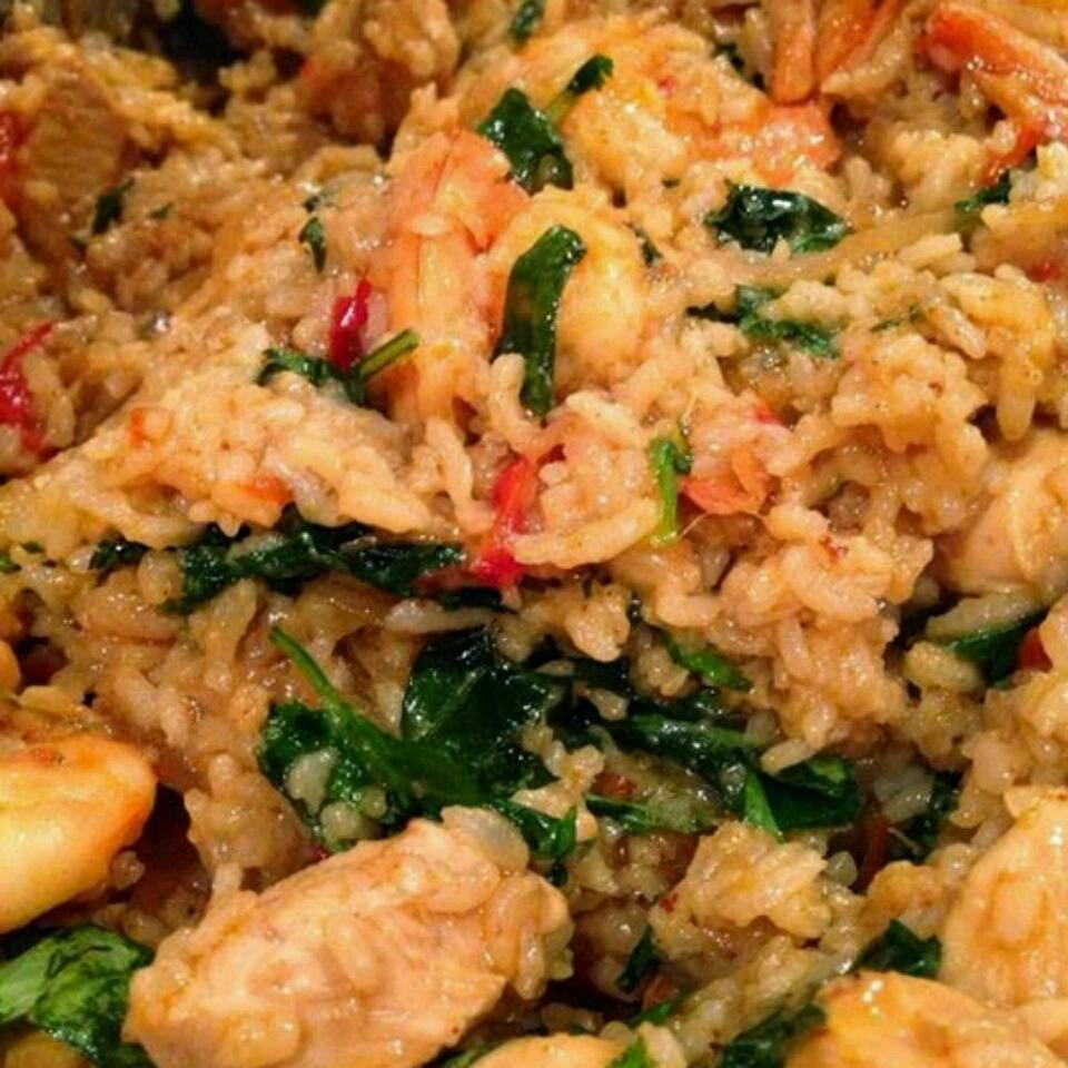 Thai Spicy Basil Chicken Fried Rice Adrienne