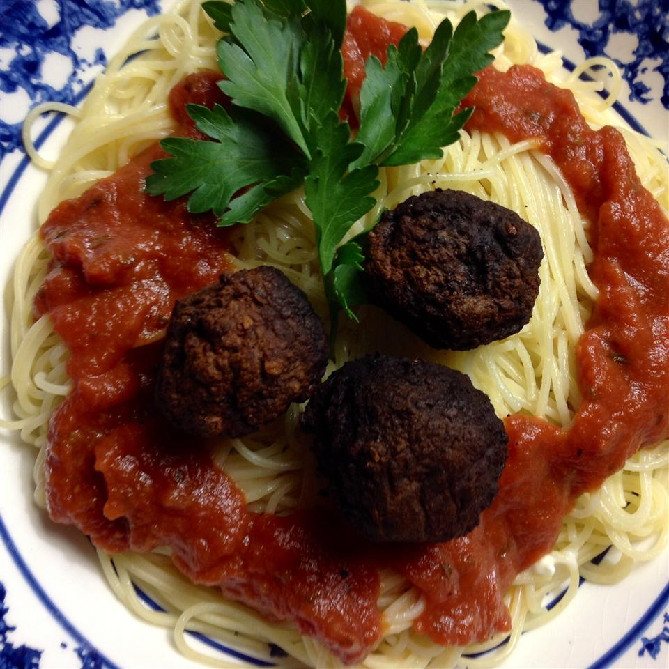 Spaghetti and Chipotle Meatballs BigShotsMom