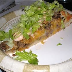 Big Cheeseburger Pizza