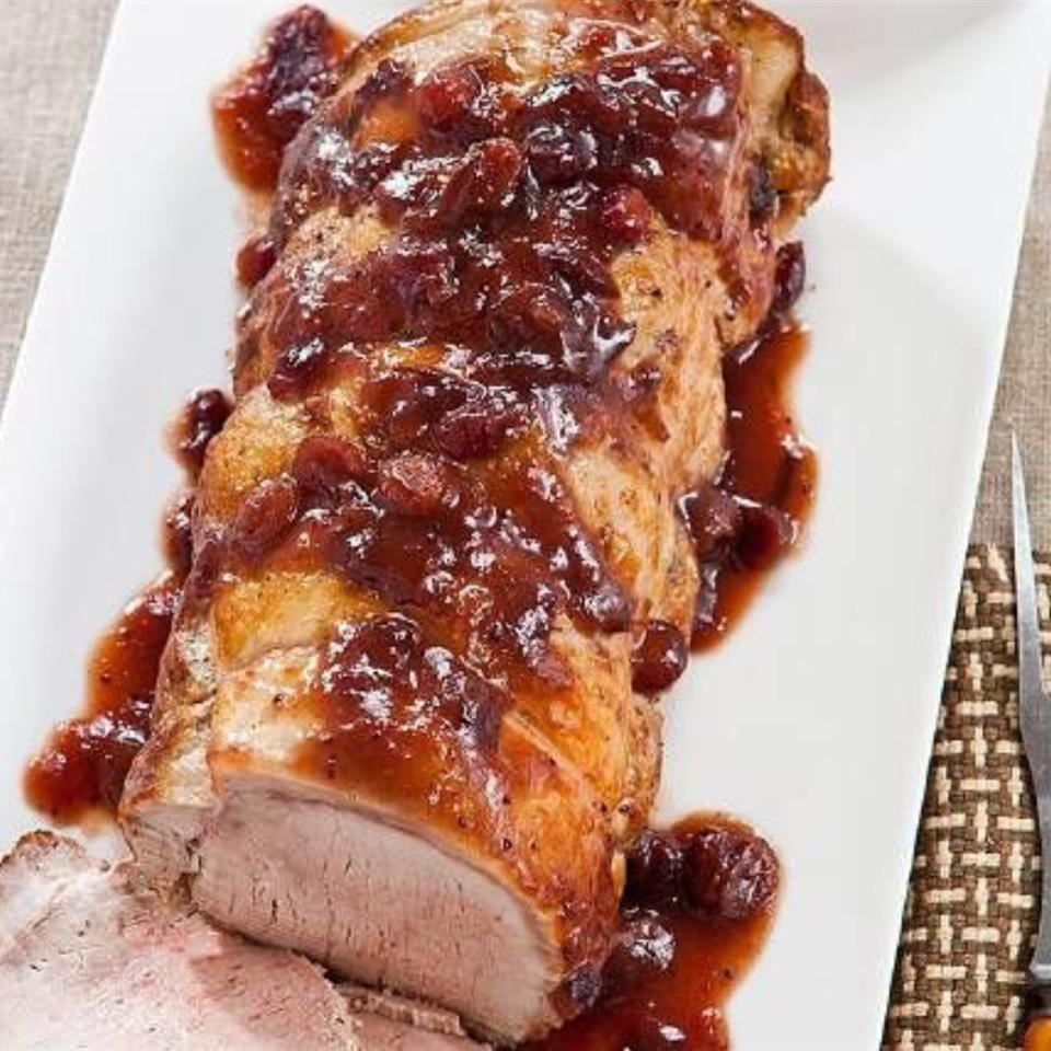 Roast Pork with Cranberry Glaze Christine L.