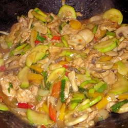 Authentic Thai Cashew Chicken SummerRain