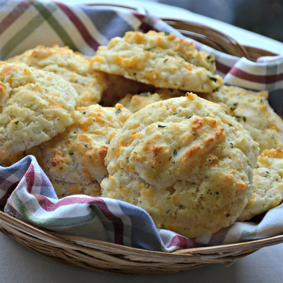 Garlic-Herb Butter Drop Biscuits Kim's Cooking Now