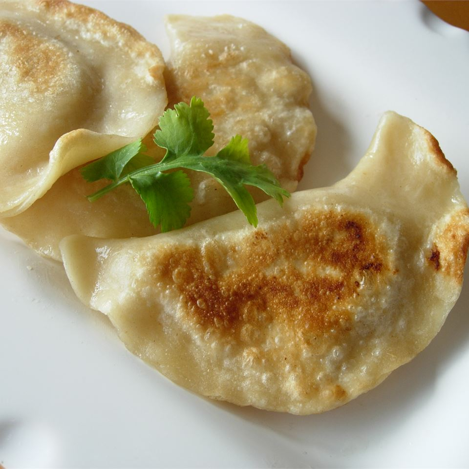 Shortcut Potato Onion Perogies