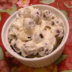 Aunt Nancy's Grape Salad