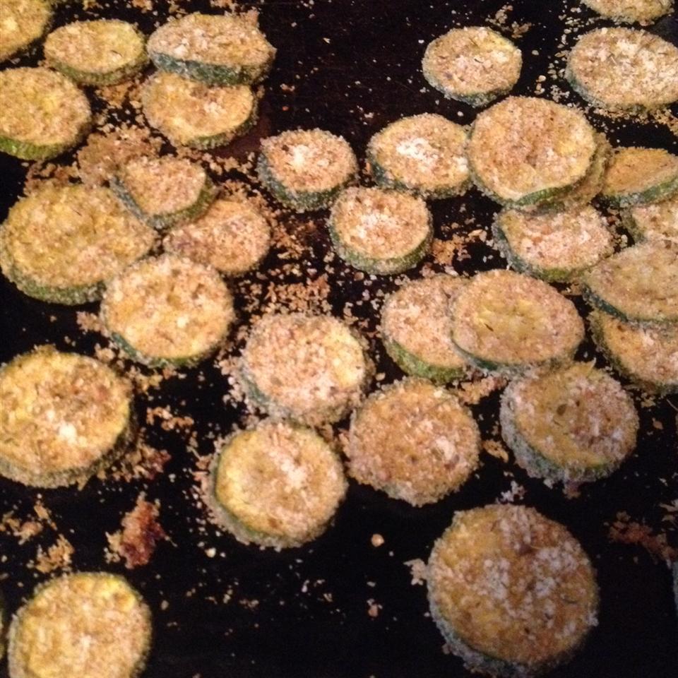 Baked Zucchini Chips ryonshaw
