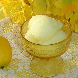 Lemon Sorbet SHORECOOK
