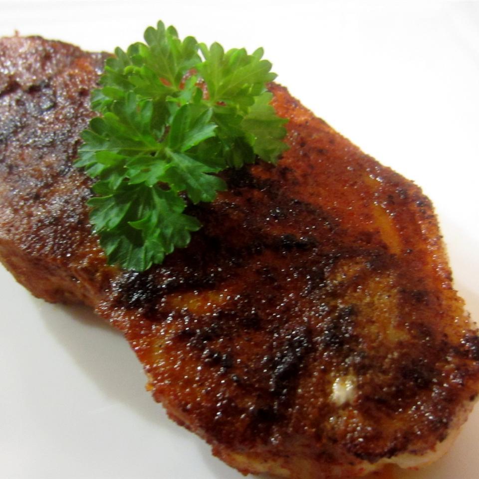 Sorta Blackened Chile-Rubbed Pork pelicangal
