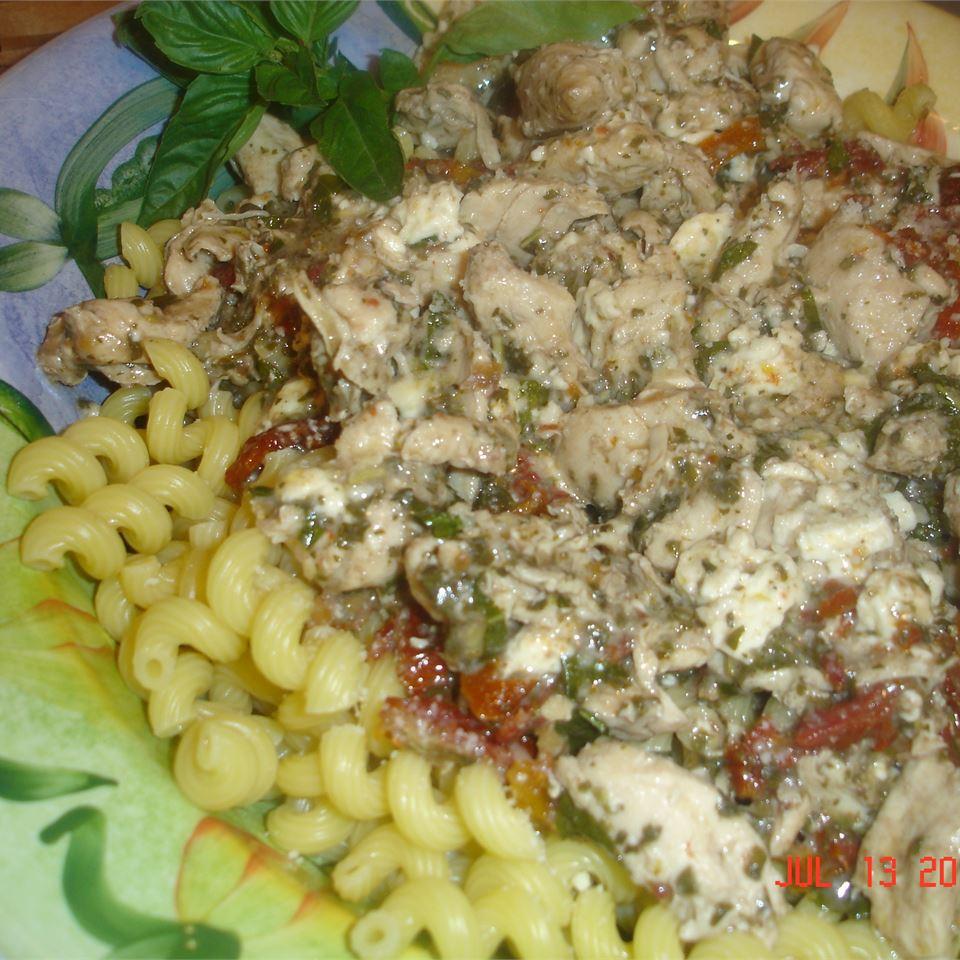 Chicken Pesto a la Lisa vicki b