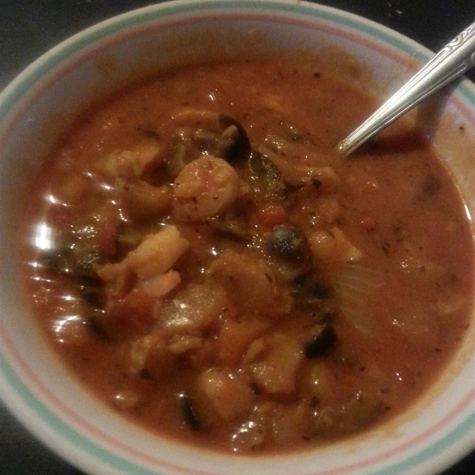 Mediterranean Fish Soup Wezzie Pinder
