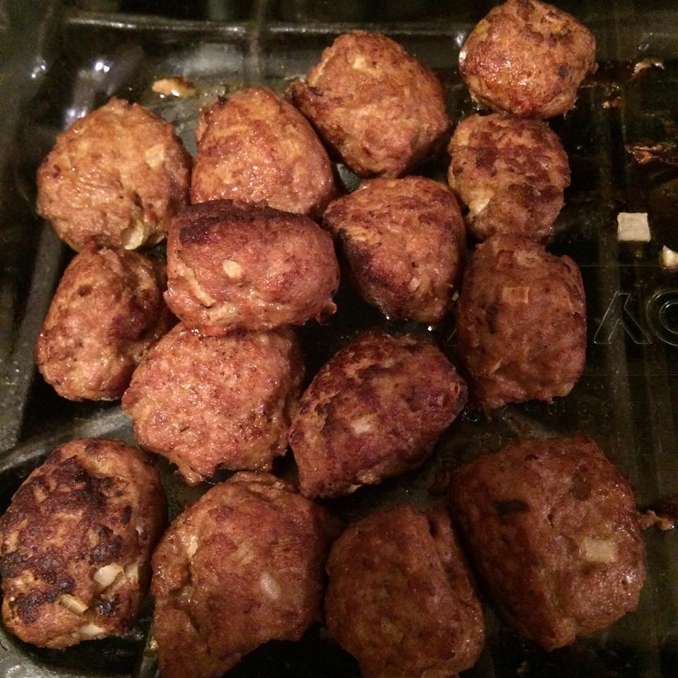 Curried Turkey Meatballs nina