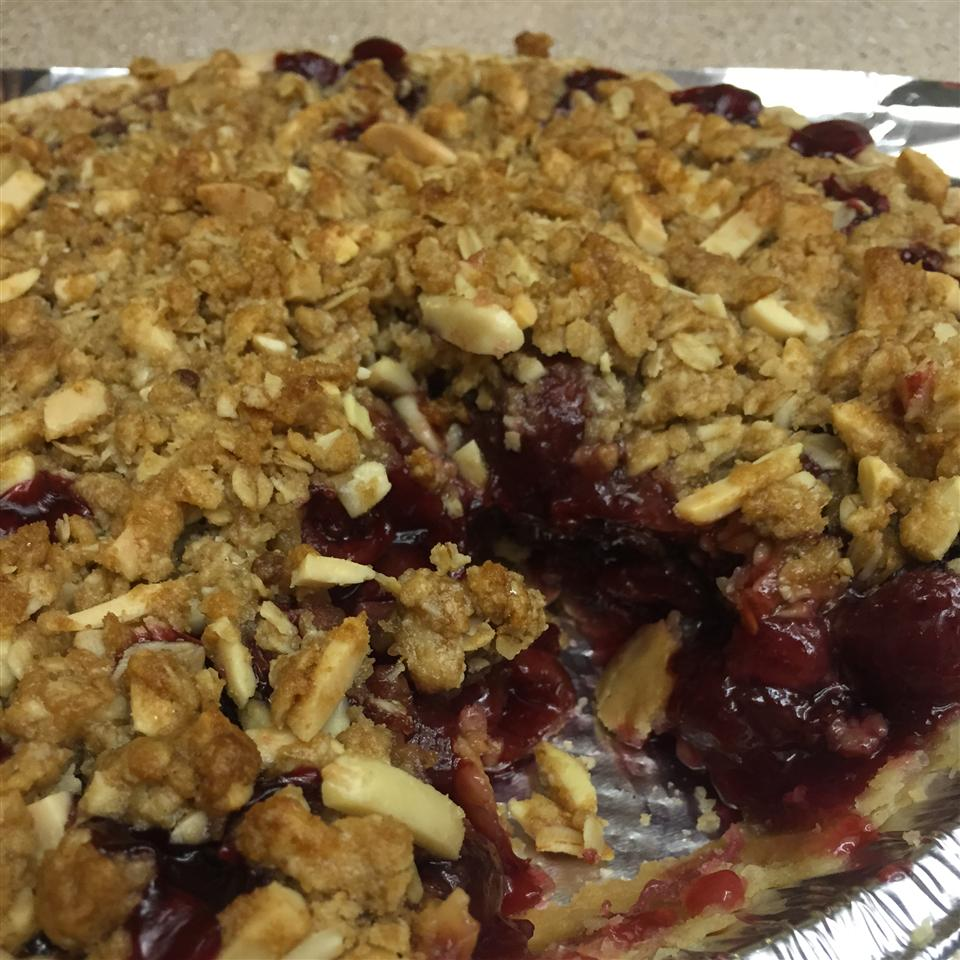 Cherry Pie with Almond Crumb Topping linda