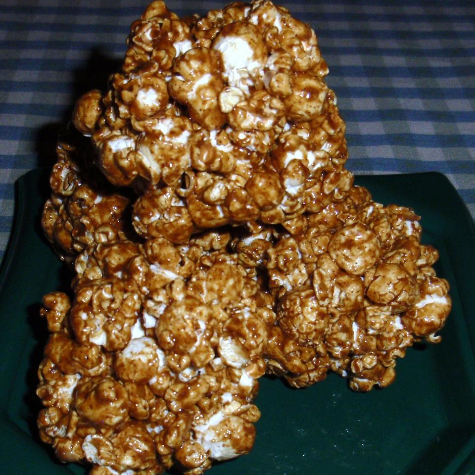 Spiced Popcorn Balls