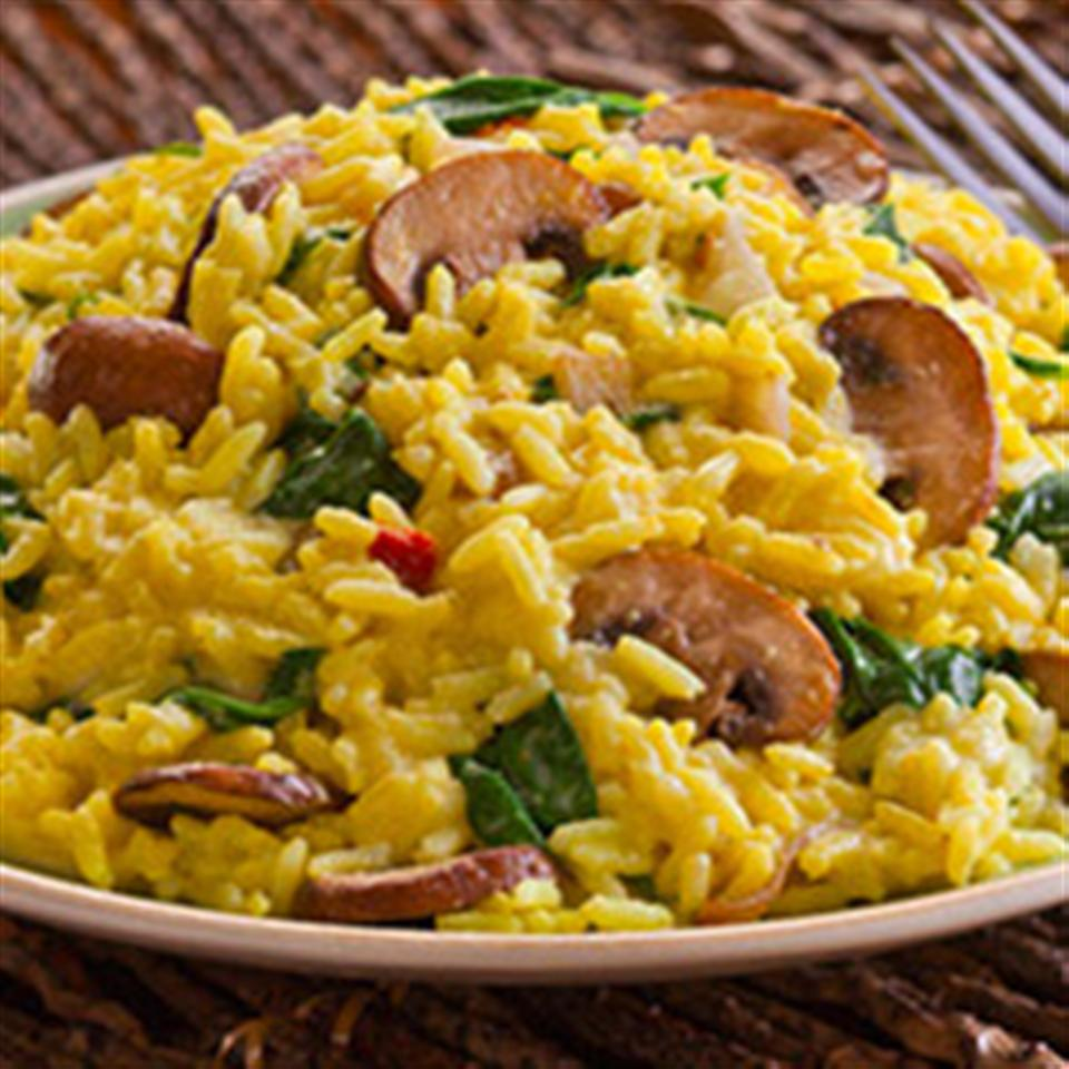 Creamy Spinach & Mushroom Risotto Trusted Brands