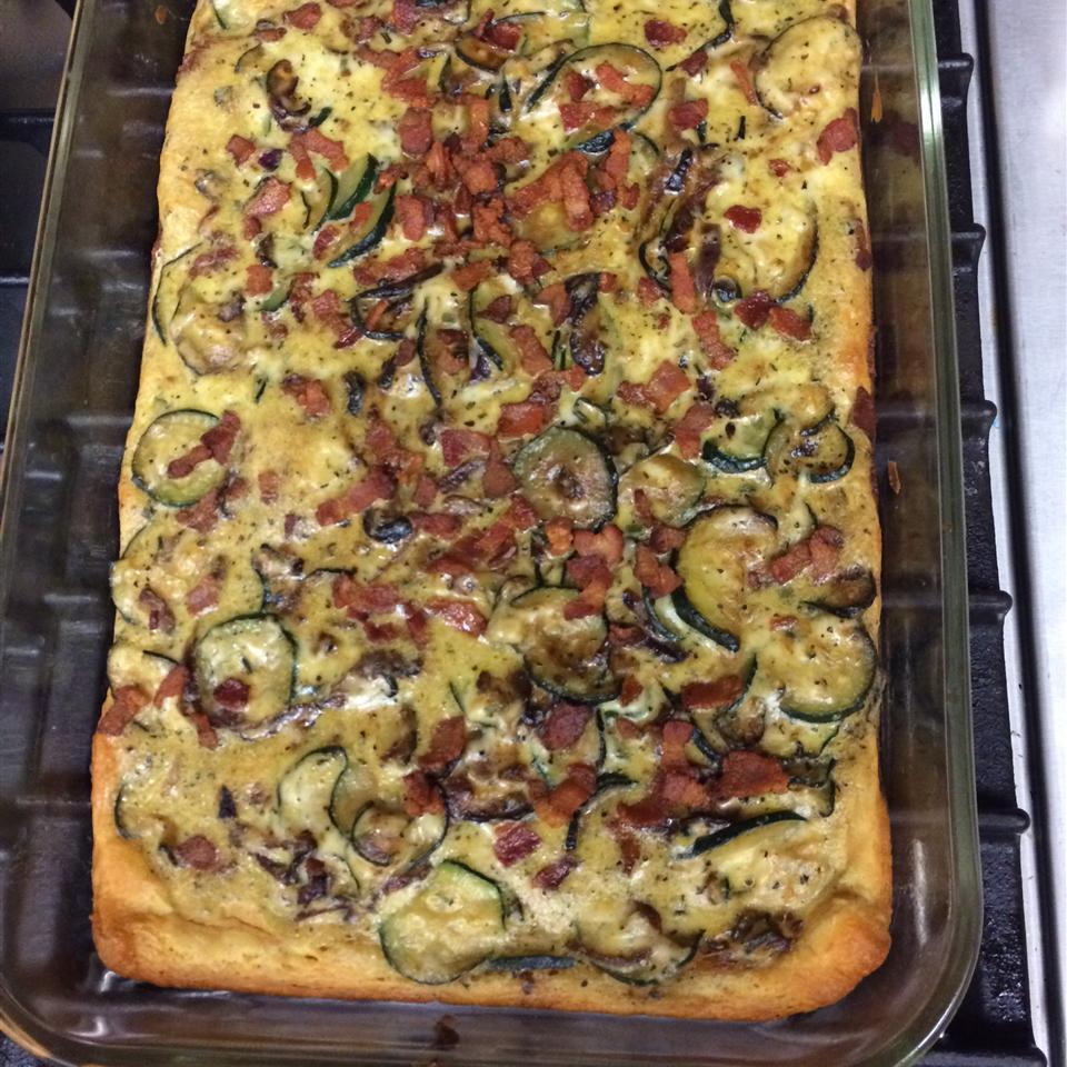 Granny's Italian Zucchini Pie Cindy Barker Duerksen