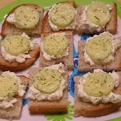 Cucumber Sandwiches I ~TxCin~ILove2Ck