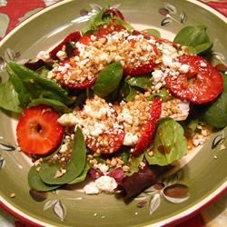 Strawberry and Feta Salad ~TxCin~ILove2Ck