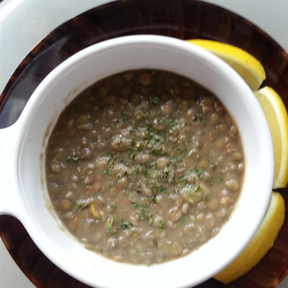 Lentil Lemon Soup Liz Dalton 'Lizzie'