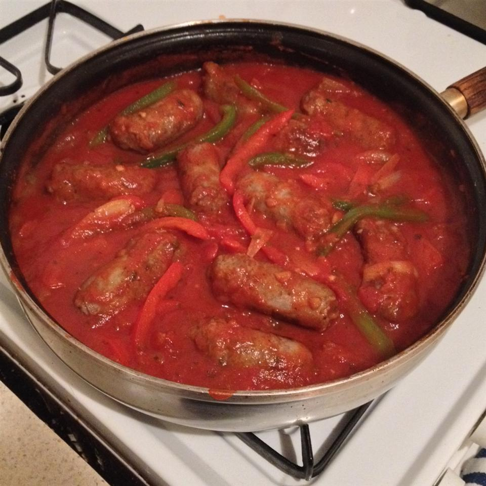 Italian-Style Sausage and Peppers