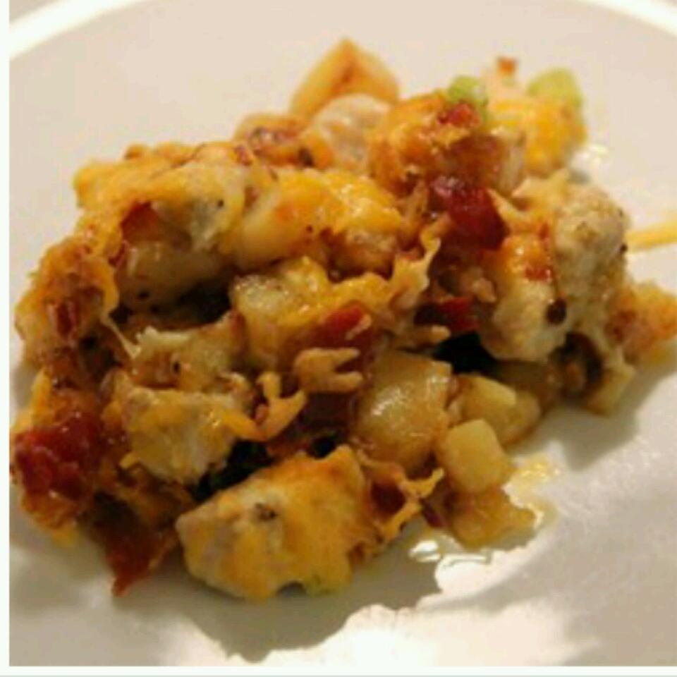 Buffalo Chicken and Roasted Potato Casserole Mommy Madness! ;)