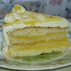 Silver White Cake