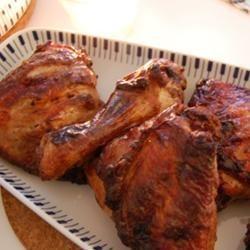 Grilled Chicken Thighs Tandoori racincake