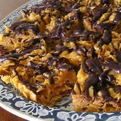 Peanut Butter Cornflake Crunch Bars Kathleen