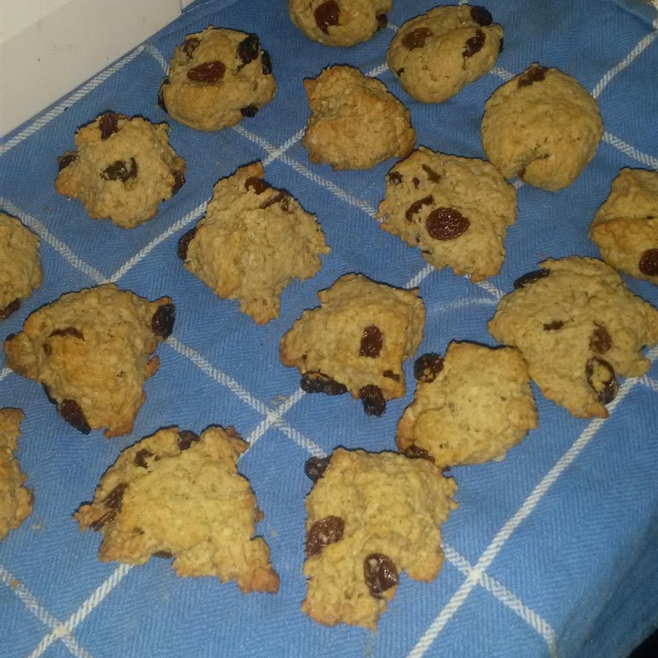 Grandma's Oatmeal Raisin Cookies muskokabaker