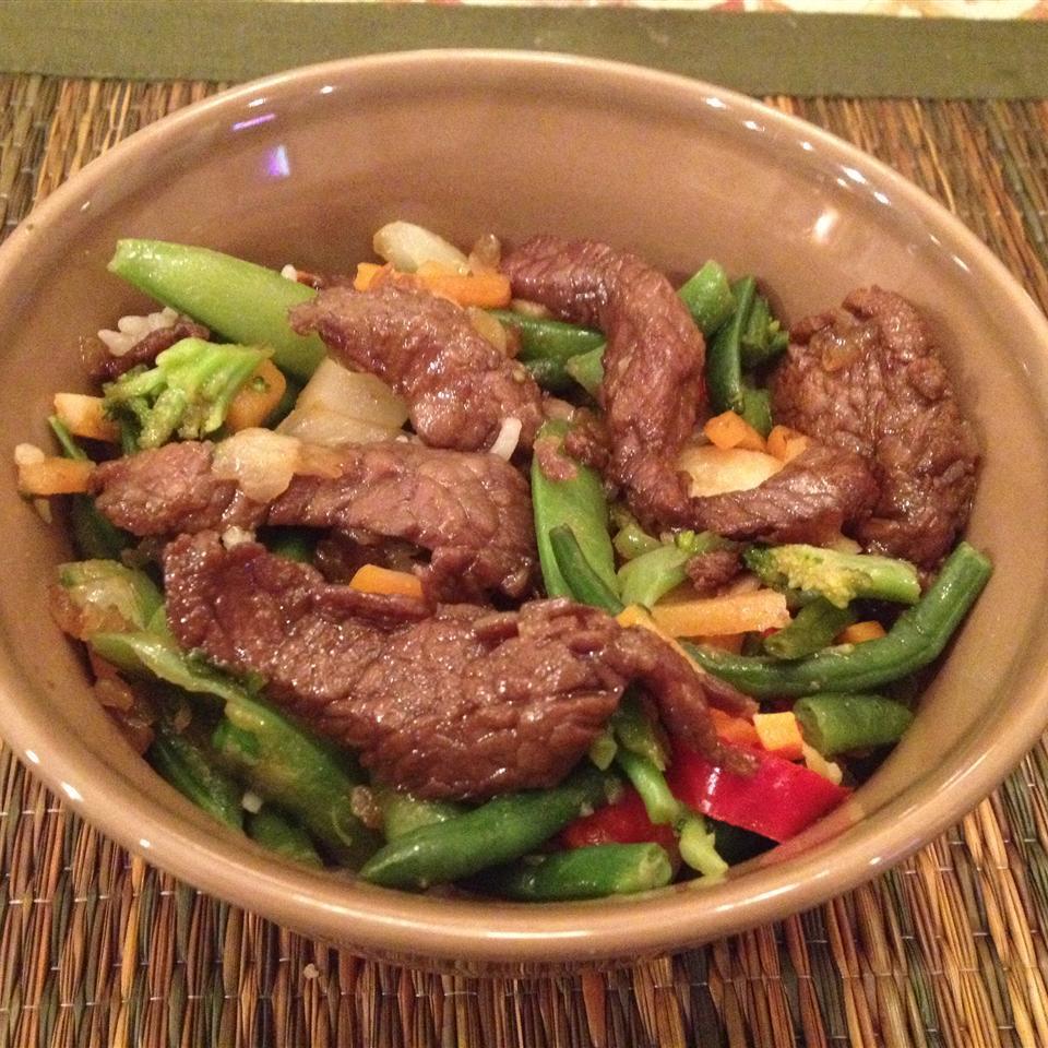 Kicky Steak Strips with Rice KUKANA1983