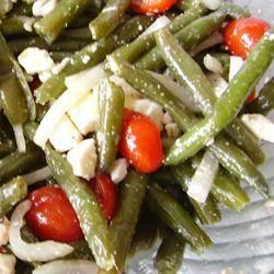 Green Bean and Feta Salad Christina