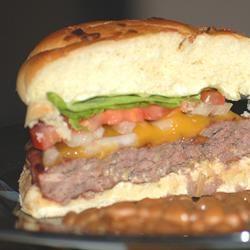 Onion and Cheddar Burgers SavvyTech