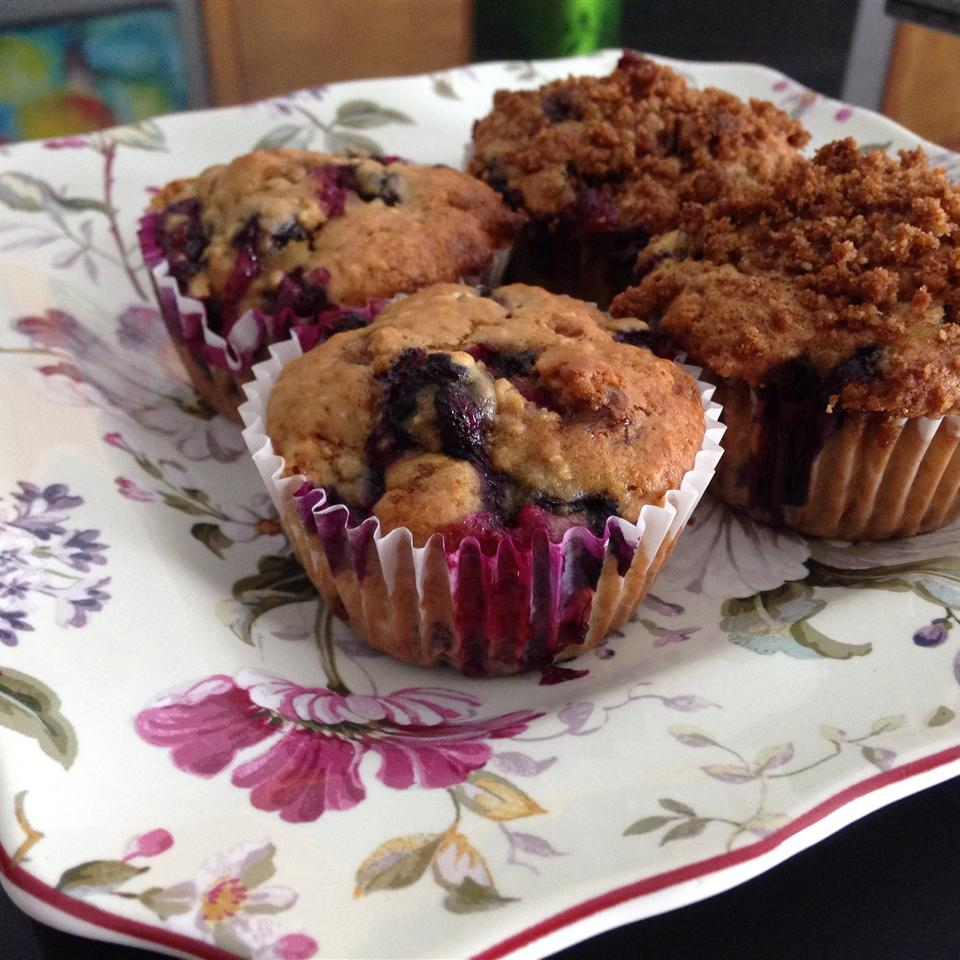 Healthier To Die For Blueberry Muffins meushi2