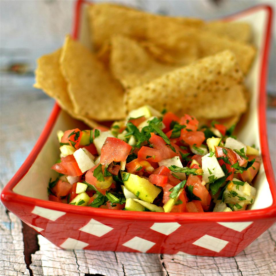 Apple Tomato Salsa
