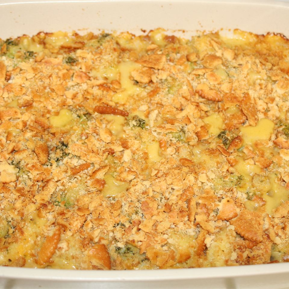 Broccoli and Cauliflower Casserole JenInCalifornia
