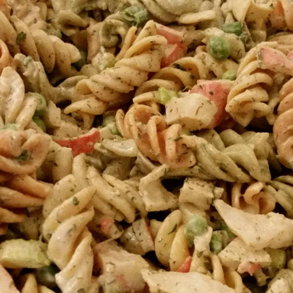 Easy Crab Pasta Salad