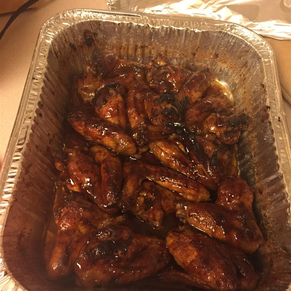 Wings In Cola