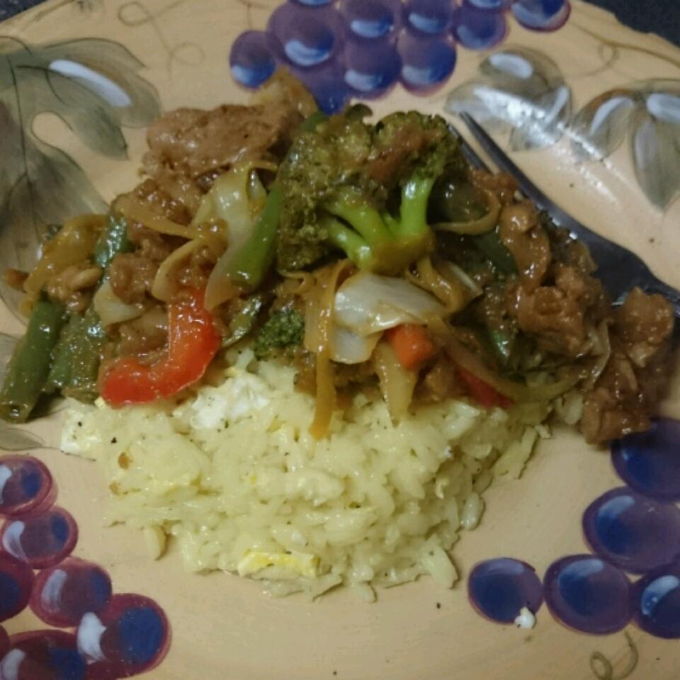 Stir-Fried Vegetables with Chicken or Pork miranda gentile