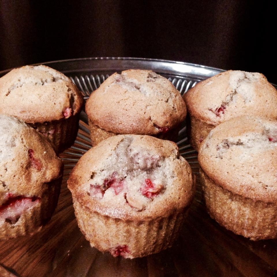 Florida Strawberry Muffins