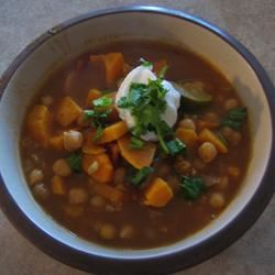 Spicy African Yam Soup