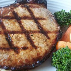 Grilled 'Fusion' Pork Chops CookinBug