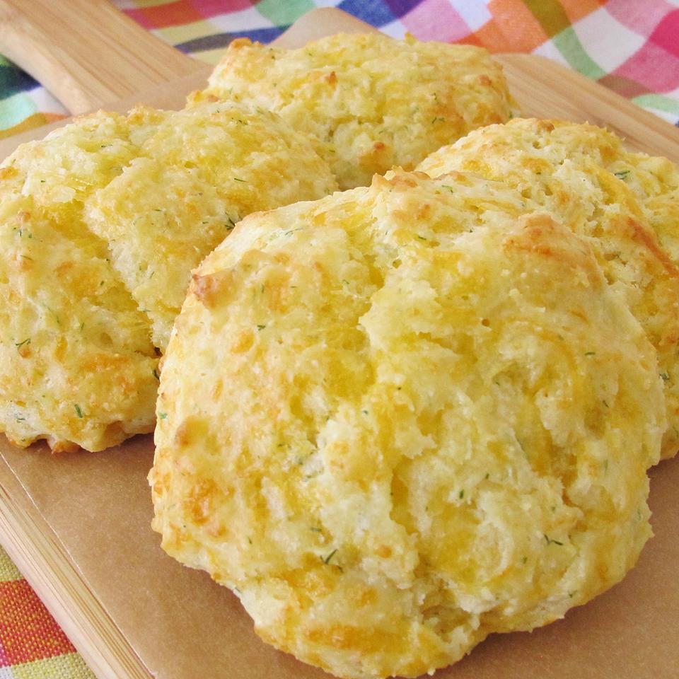 Tender Cheddar Garlic Biscuits