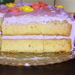 Aunt Bert's White Cake Beth Zelle