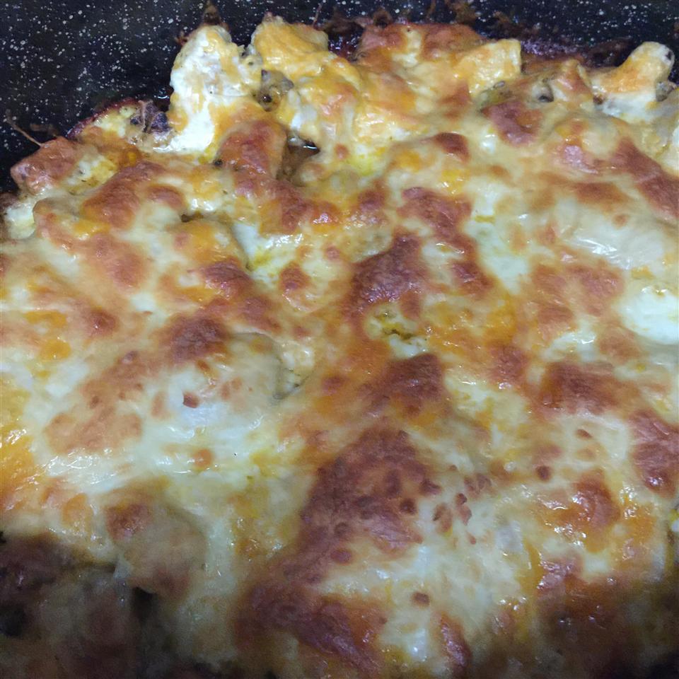 Buffalo Chicken and Roasted Potato Casserole TheMrs711
