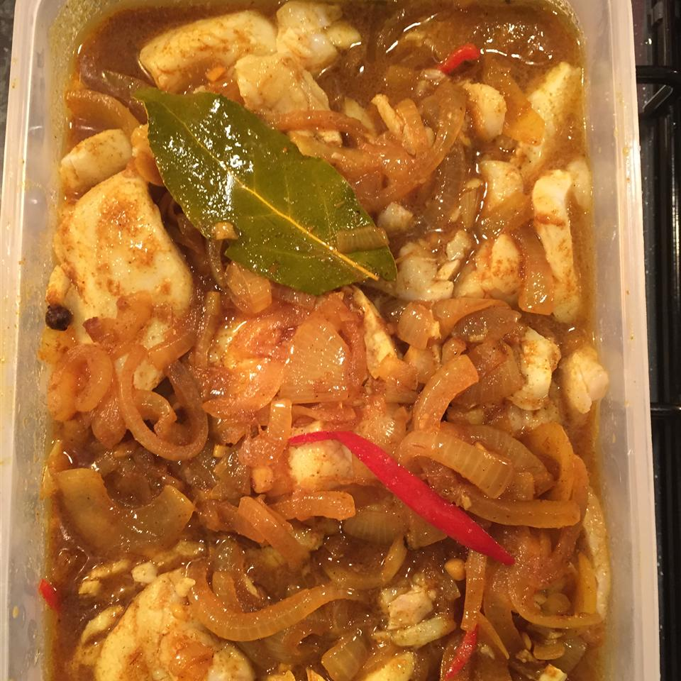 Cape Malay Pickled Fish