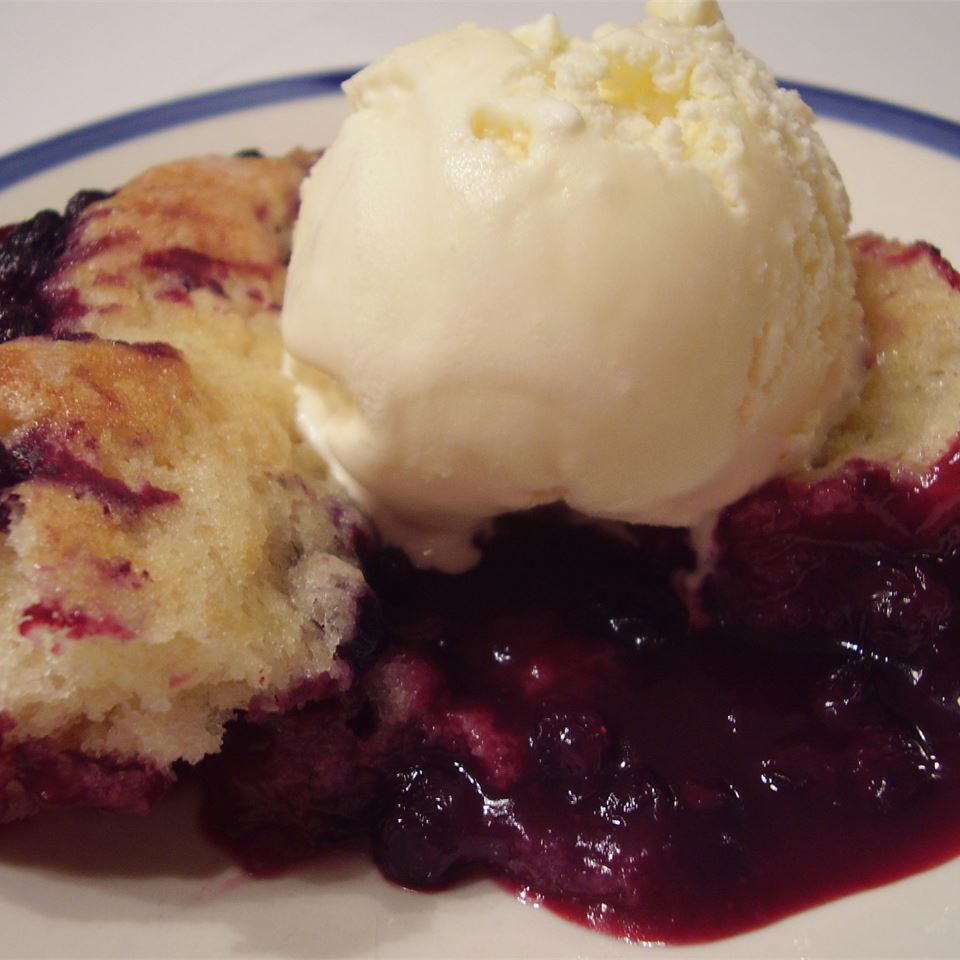 """This is a family recipe from my husband's mom and grandma. I like it better than the traditional cobbler. This works well with blueberries and blackberries also!"" —Roni"