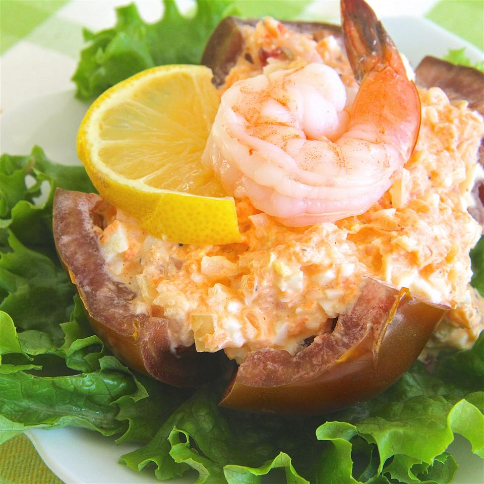Tomatoes with Seafood Dressing Wilma Scott