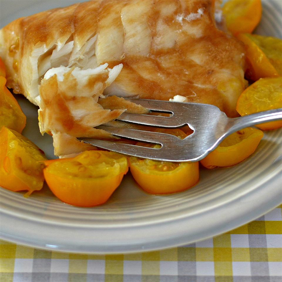 Tangy Glazed Black Cod