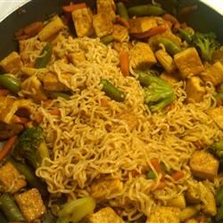 Fast and Easy Tofu Lo-Mein
