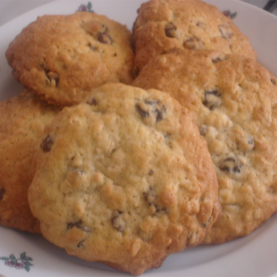 Oatmeal Raisin Cookies III